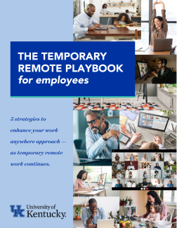 Preview image of the Temporary Remote Playbook for Employees
